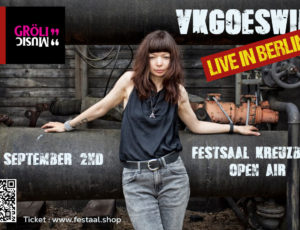 Playing in Berlin on the 2nd of September!